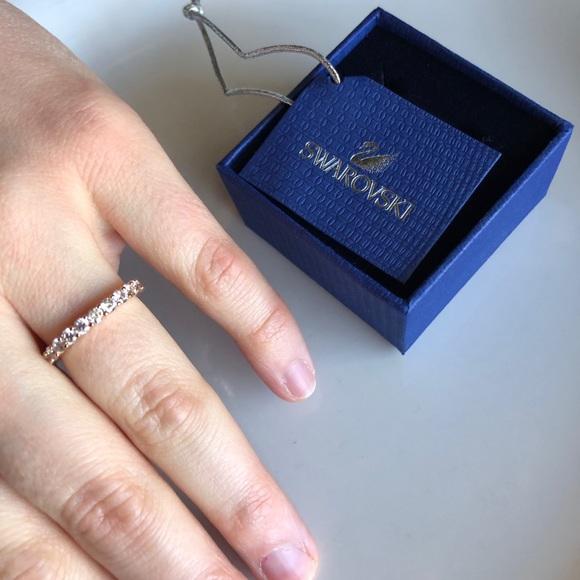 8fa5aec16 Swarovski Jewelry | Vittore Ring Rose Gold | Poshmark